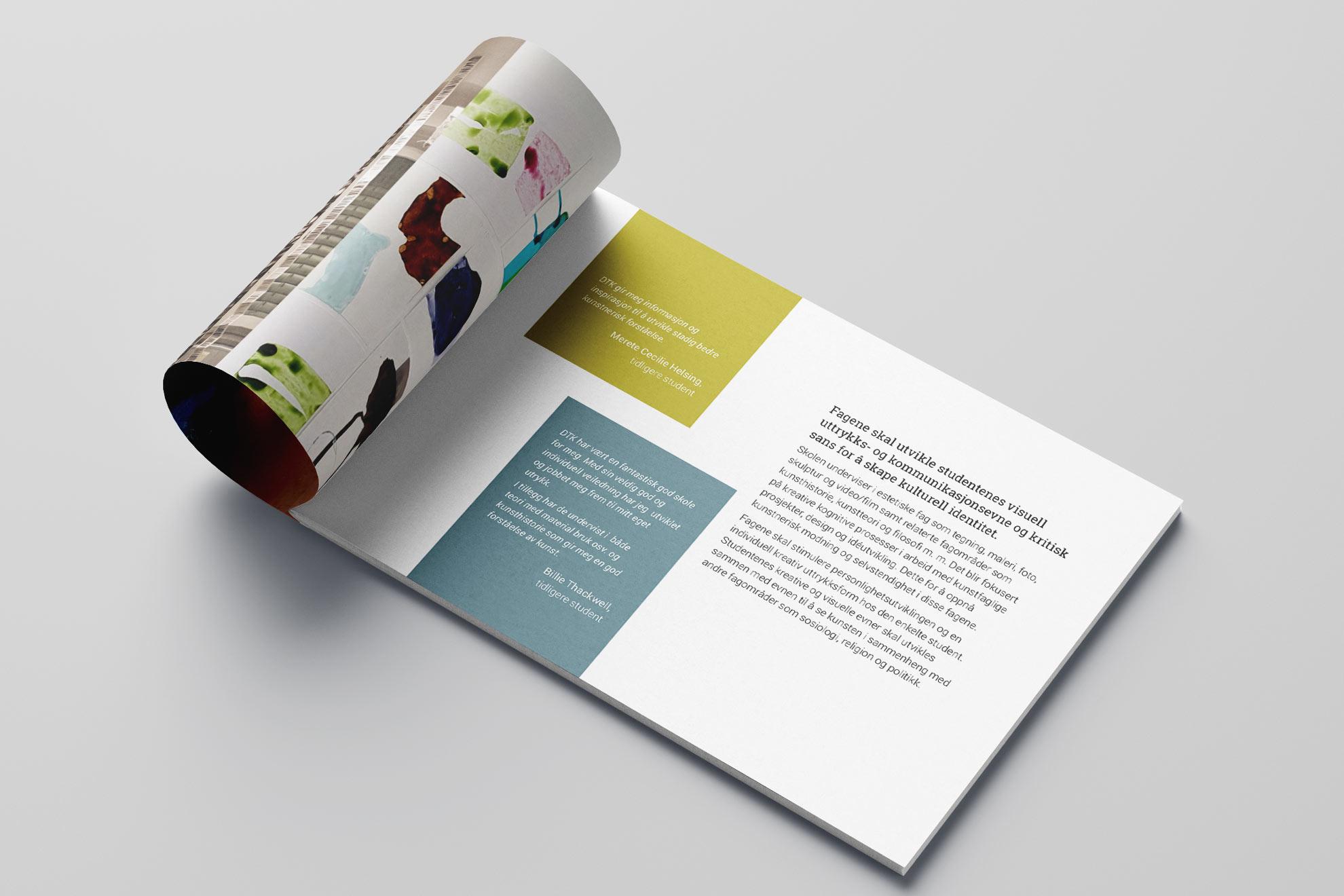 DTK brosjyre