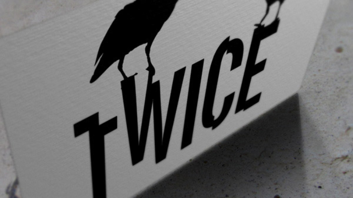 Logo Twice - record store