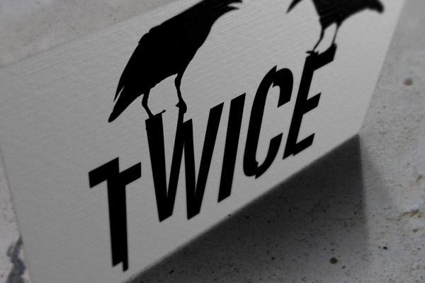 Logo Twice - record store