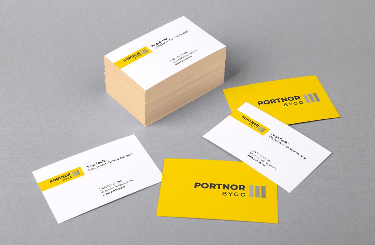 PortNor visitkort